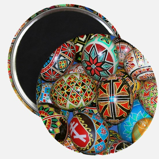 Pysanky Group 2 Magnet