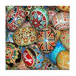 Pysanky Group 2 Tile Coaster