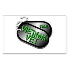 1968 Vietnam Vet Decal