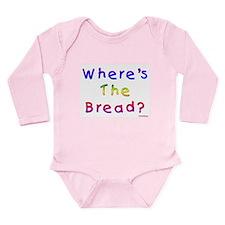 Missing Bread Passover Long Sleeve Infant Bodysuit