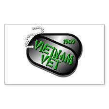 1969 Vietnam Vet Decal