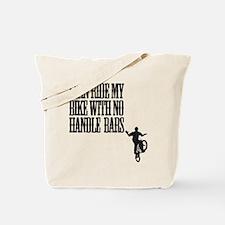no handlebars Tote Bag