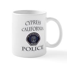Cypress Police Mug