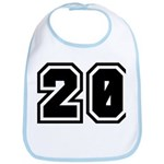 Varsity Uniform Number 20 Bib