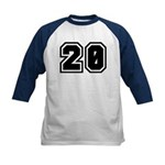 Varsity Uniform Number 20 Kids Baseball Jersey