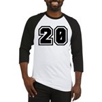 Varsity Uniform Number 20 Baseball Jersey