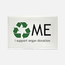 Organ donation Rectangle Magnet