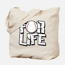 Baseball For Life Tote Bag