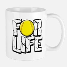 Softball For Life Mug