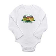 First St. Patrick's Day Long Sleeve Infant Bodysui
