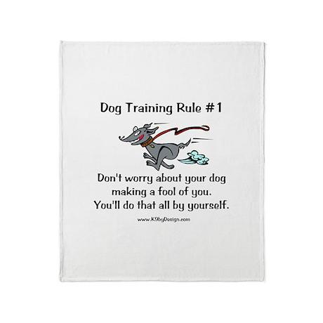 Trainer Fool Throw Blanket