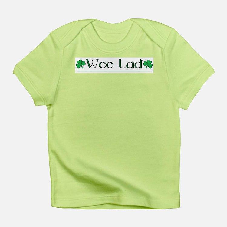 Wee Lad (Shamrocks) Infant T-Shirt