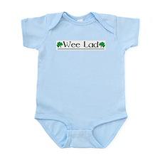Wee Lad (Shamrocks) Infant Bodysuit