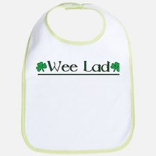 Wee Lad (Shamrocks) Bib