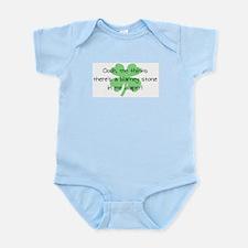 Blarney Stone in Diaper Infant Bodysuit