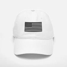 USA American Flag Gray Camo Baseball Baseball Cap