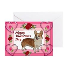 Dott Standing Valentine's Car Greeting Card
