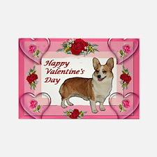 Dott Standing Valentine's Rectangle Magnet