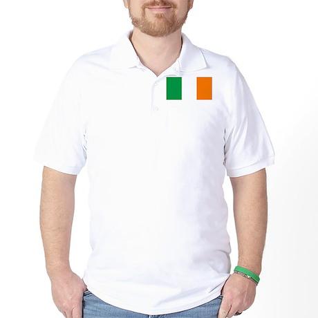 Irish Flag Golf Shirt