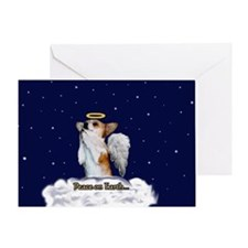 Peace Angel Dott Greeting Card