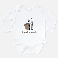 I Got A Rock! Long Sleeve Infant Bodysuit