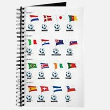 Soccer Balls and Flags Journal