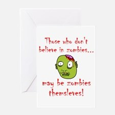Zombies Themselves! Greeting Card