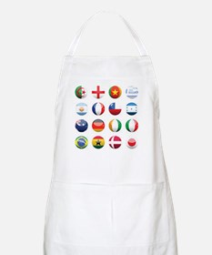 World Cup Soccer Balls Apron