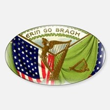 Erin Go Bragh Flags Decal