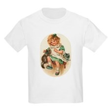 Irish Girl with Kittens T-Shirt
