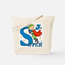 Super Boy 3rd Birthday Tote Bag