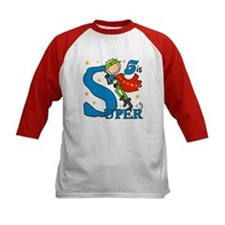 Super Boy 5th Birthday Tee