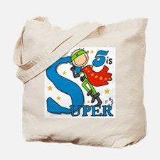 Super Boy 5th Birthday Tote Bag