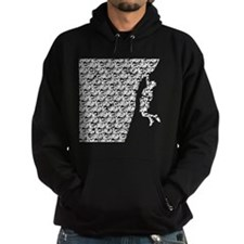 Chasm pattern Rock Climber Hoodie