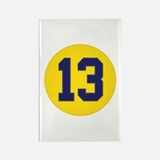 Vintage 'Championship 13' (w/stitched appeal) Rect