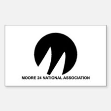 Moore 24 Sticker (Rectangle 50 pk)