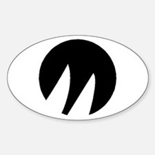 Moore 24 Sticker (Oval)