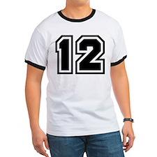 Varsity Uniform Number 12 T