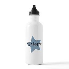 Cute Rock star Water Bottle