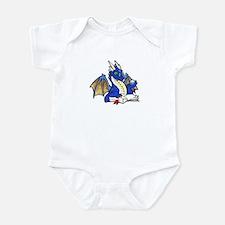 Blue Bookdragon Infant Creeper
