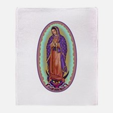 2 Lady of Guadalupe Throw Blanket