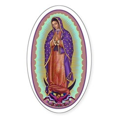 2 Lady of Guadalupe Decal