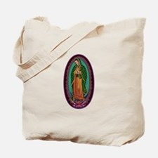 3 Lady of Guadalupe Tote Bag