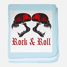 Rock and Roll baby blanket