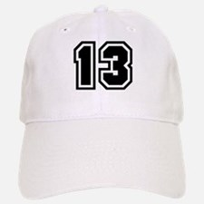 Varsity Uniform Number 13 Baseball Baseball Cap