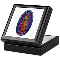 5 Lady of Guadalupe Keepsake Box