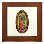 6 Lady of Guadalupe Framed Tile