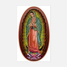 6 Lady of Guadalupe Decal