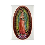 6 Lady of Guadalupe Rectangle Magnet (100 pack)
