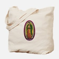 7 Lady of Guadalupe Tote Bag